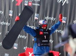 Scotty James on podium World Champs Park City