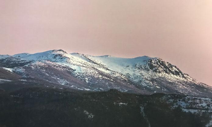 Mt Jagungal from the Alpine Australia book