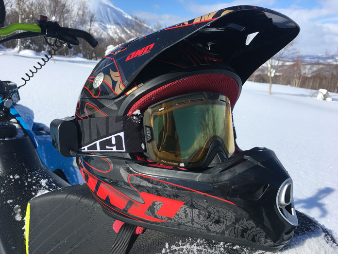Ride 509 Sinister Ignite goggles  road tested in Rusutsu Japan