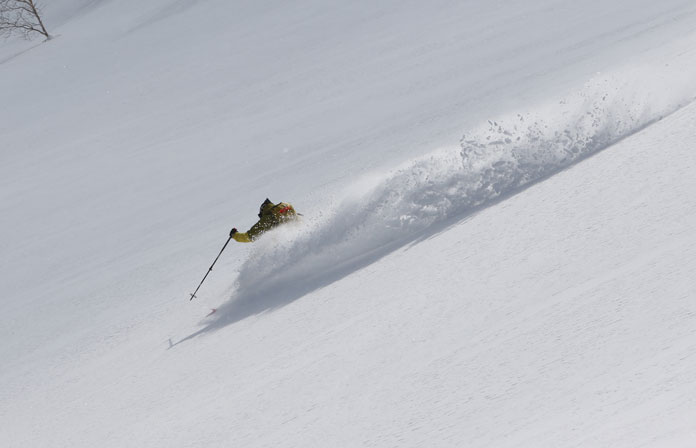 Cat skiing just 15 minutes away from Hachimantai Mountain Hotel & Spa