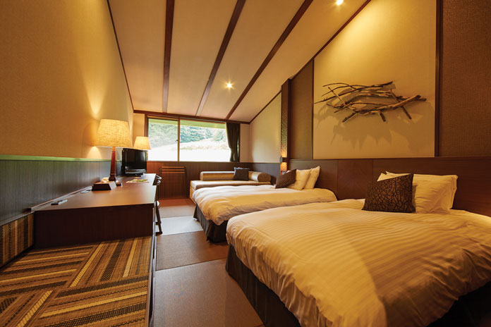 Hachimantai Mountain Hotel & Spa room