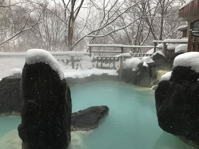 Matsukawa Onsen in winter