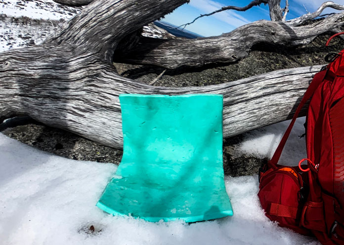 A piece of foam is a very handy addition to the ultimate ski day pack selection