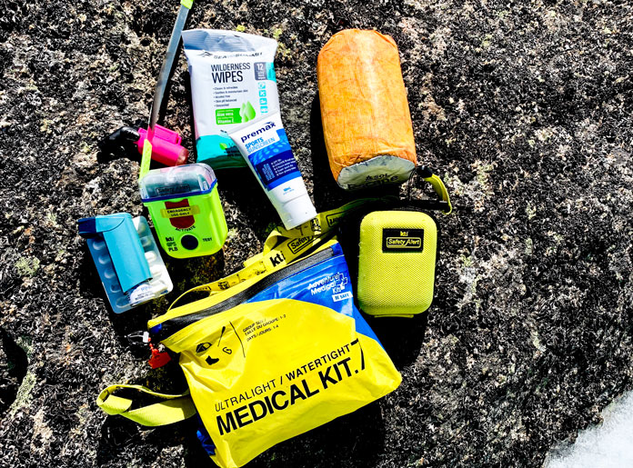 Your ultimate ski day pack list must include a decent medical kit