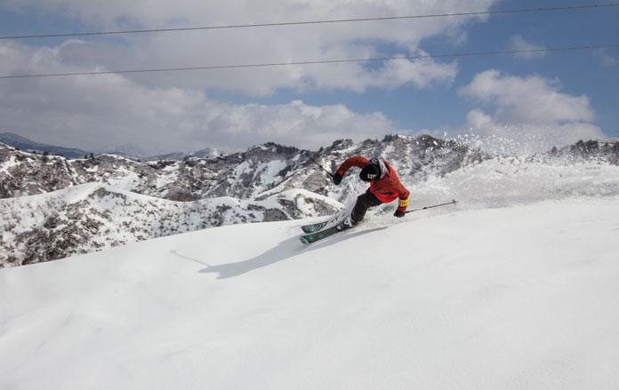 Skiing Kandatsu Kogen close to Echigo Yuzawa station using a JR East Nagano Niigata Pass