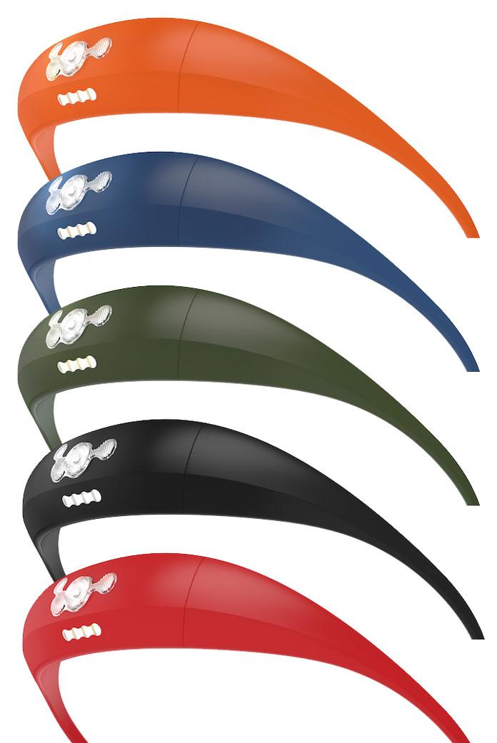 Knog Bandicoot headlamp colour range