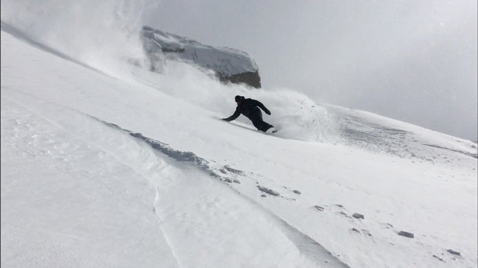 One of the best days of the 2020 ski season at Thredbo