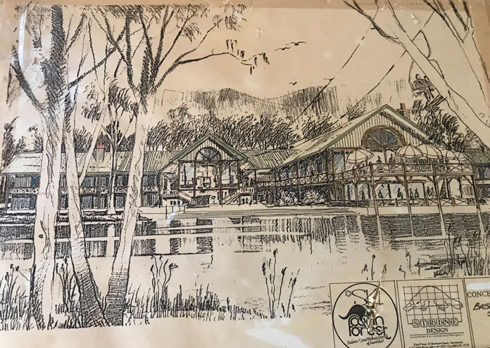Plans of the ski lodge hotel proposed for Corin Forest Canberra