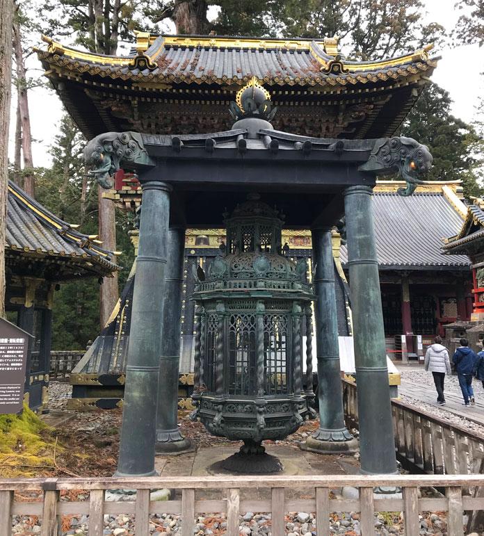 Dutch Candelabra, or Revolving Lantern, Toshogu Shirne Nikko