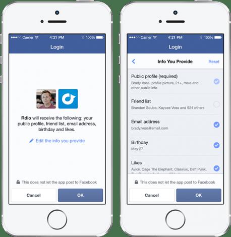 Facebookログイン Version2.0(アプリのパーミッション仕様変更)