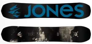 Grabbing the best snowboard by Jones would never hurt
