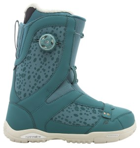 K2's beautiful women's boots for snowboarding