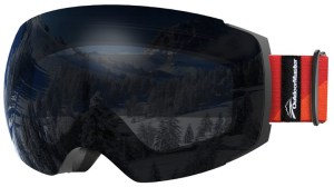Last but not least, a less known brand but great pair for snowboarding and skiing