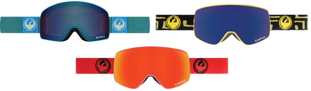 We review the highly rated Dragon NFX2 snowboard ski goggles