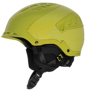 A beautiful helmet for snowboarders and skiers by K2
