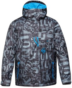 Quicksilver's top-notch snowboard ski jacket