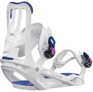 We love Salomon bindings due to comfort and flexibility