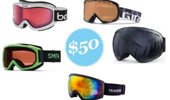 Here's our review of our top picks of the best snow goggles under 50 dollars