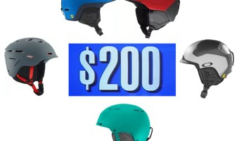 We guide you through the best ski and snowboard helmets under 200 dollars