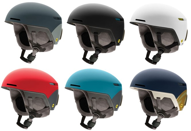 The color options of the Smith Code snow helmet