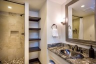 You'll find additional storage space in the adjacent bath [Cedar]