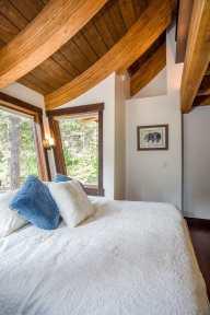 Ponderosa - Master Bedroom beams