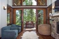 Ponderosa - Great room with doors open to balcony