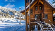 The main village at Whitefish Mountain is just a quick ski away! [Ponderosa]