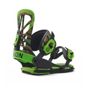 Snowboard bindinger i grøn