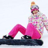 スノーボード女子
