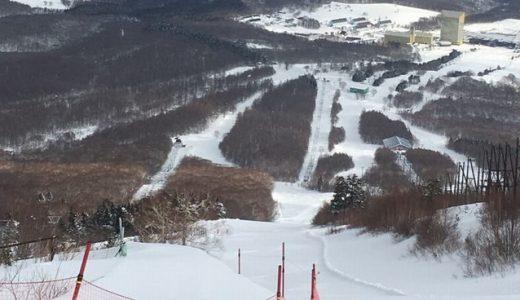 安比高原スキー場で滑ってきた!2017年3月12日日曜日