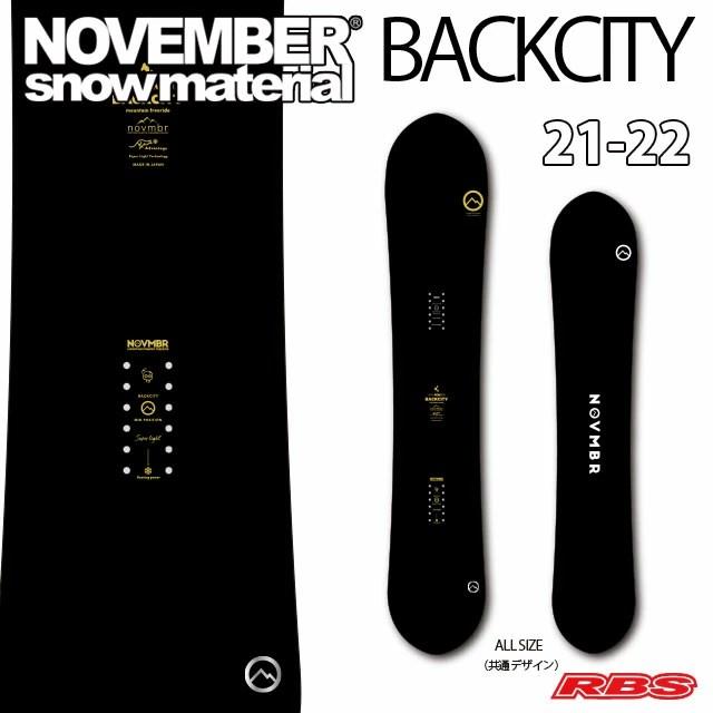 NOVEMBER 21-22 BACKCITY