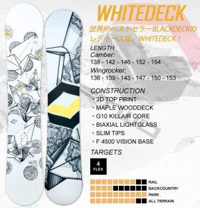 WHITEDECK