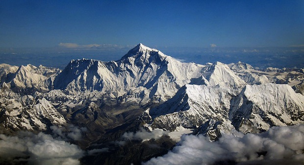 Mount Everest and friends
