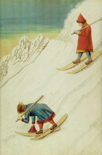 sami skiing