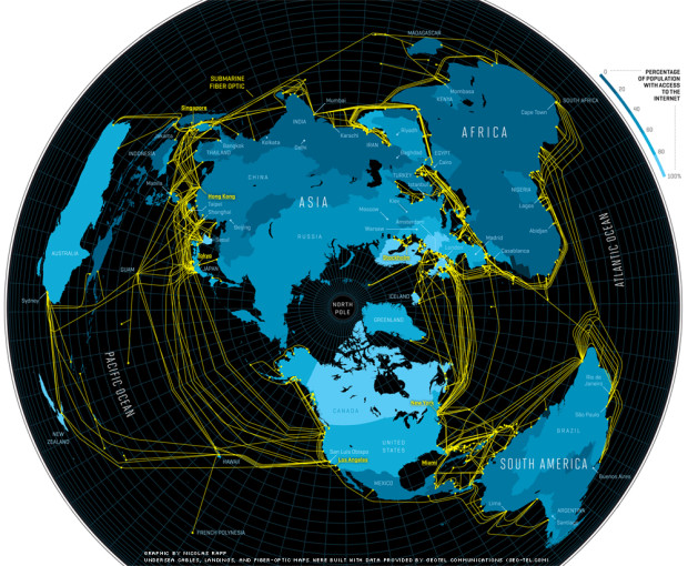 Undersea Cable Map Proves FE | Aplanetruth info