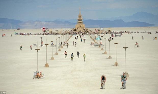 Burning Man.  photo:  dailymail.co.uk