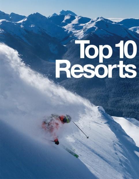 Top 10 Ski Resorts in North America by Freeskier Magazine ...