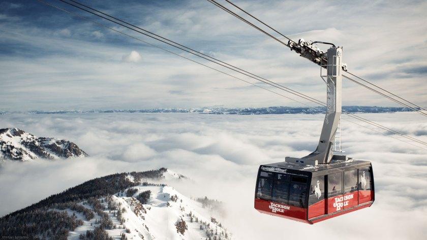 Jackson Hole, Cody peak, tram, wyoming