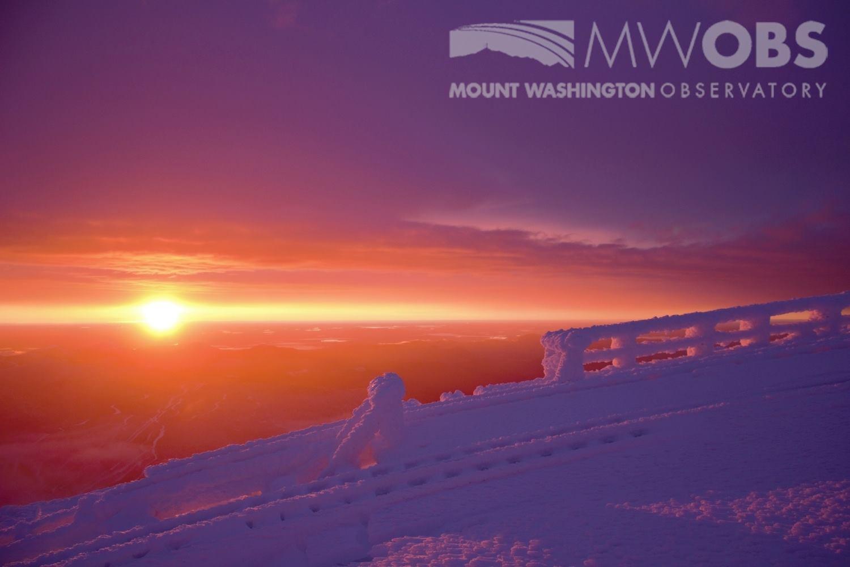 Mt Washington Observatory Northern Lights