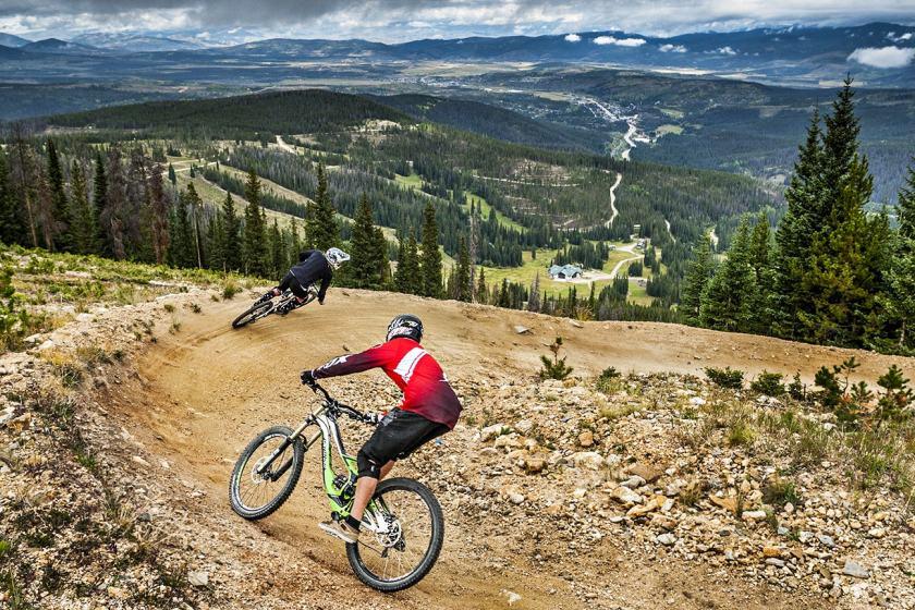 Downhill, summer, winter park, fraser, colorado