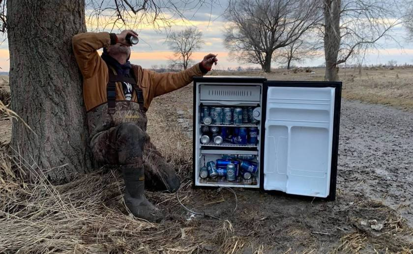 nebraska, fridge full beer, beer