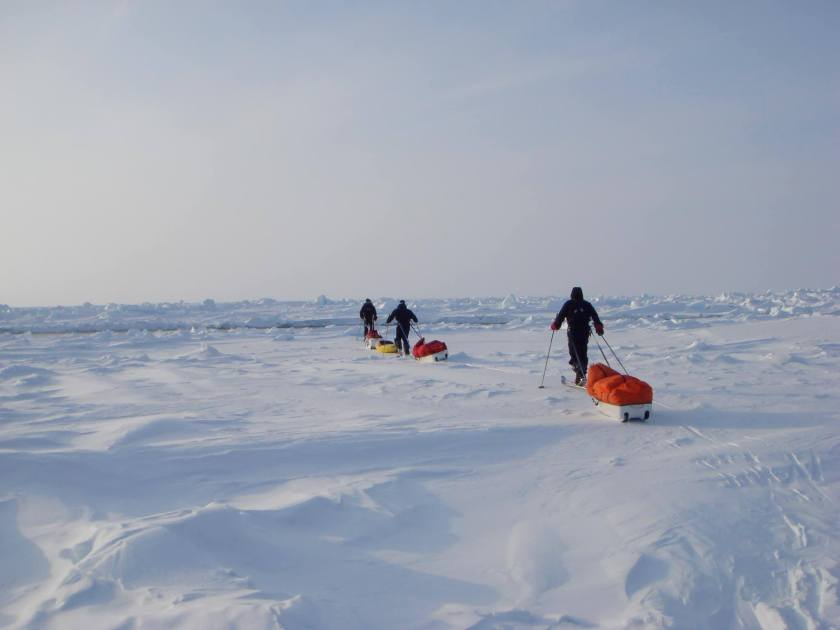 ice axe expeditions, North Pole,