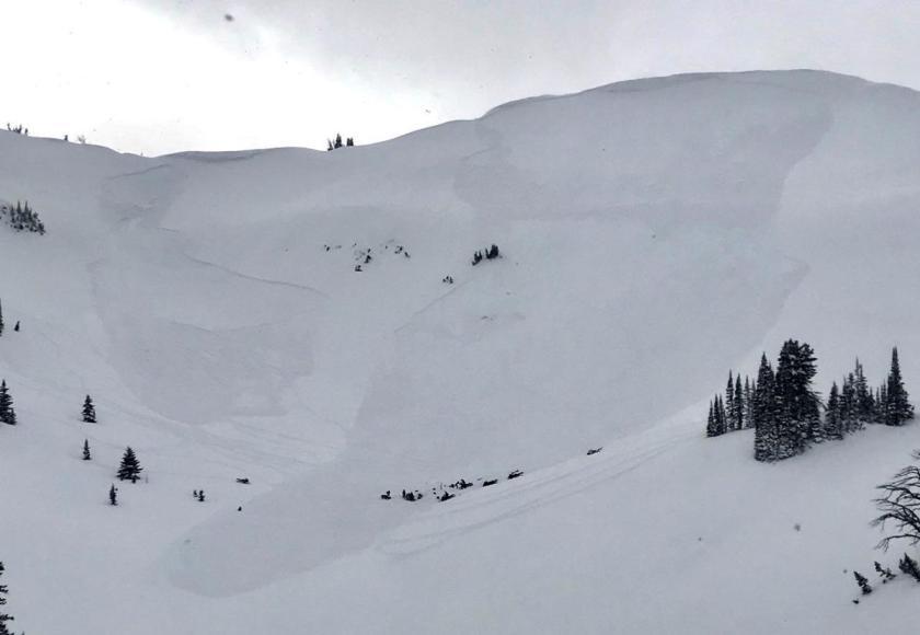 Jackson, teton, avalanche, woman buried, wyoming