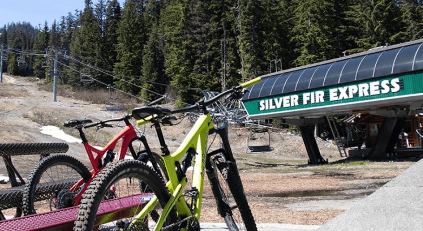 bike terrain, Washington, summit snoqualime