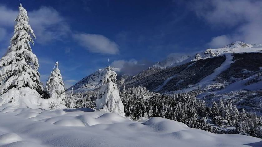 argentina, Bariloche, storm, snowfall, snow