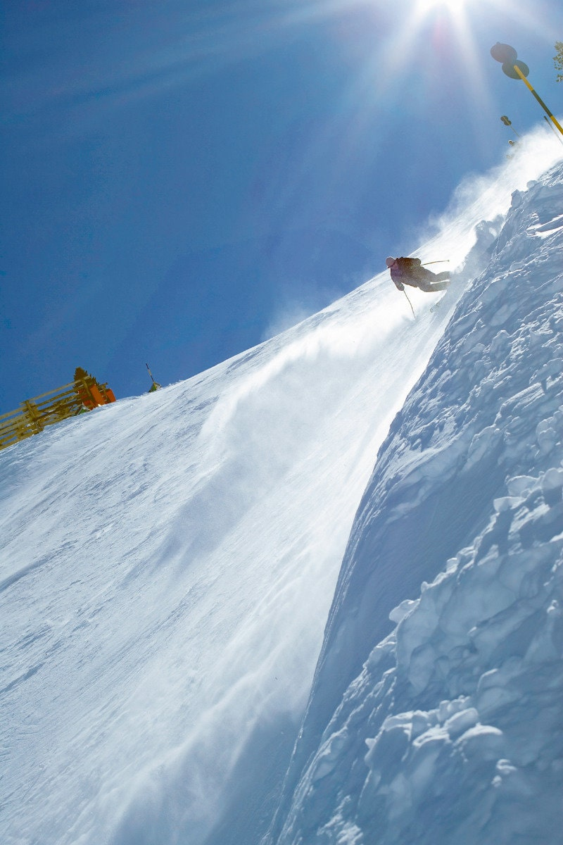 steepest groomed run, Austria