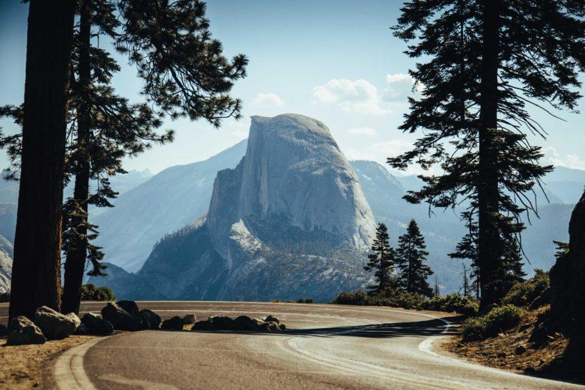 glacier point road, Yosemite, california, closed, 2021