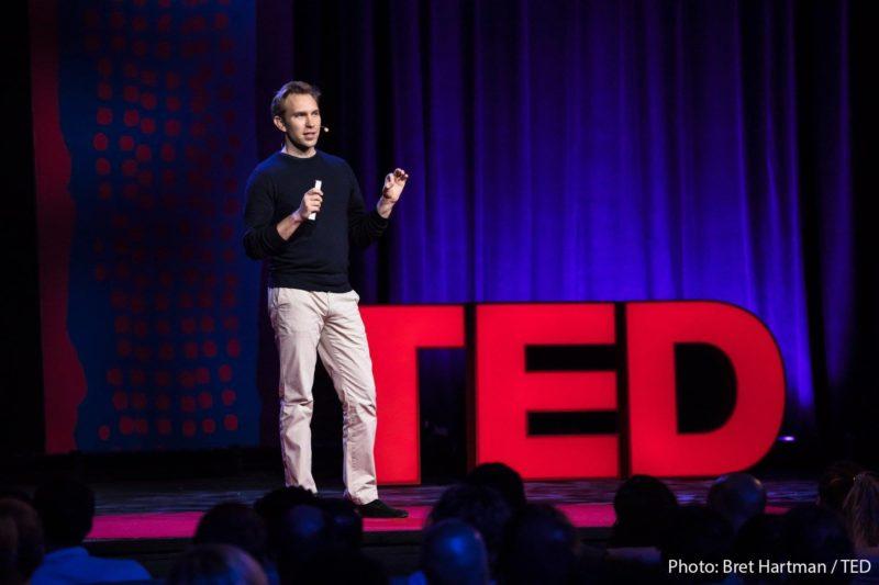 ted talk, smartphone app