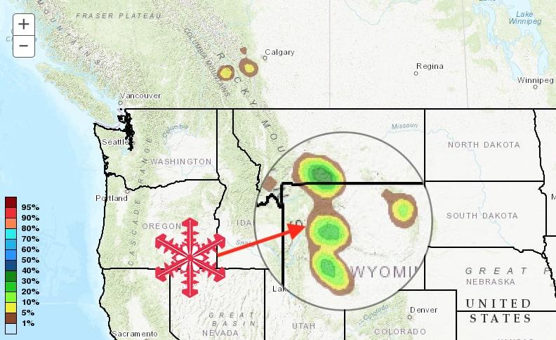 snow, Montana, Wyoming, noaa, nws